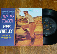 """*<* SALE! UNPLAYED MINT ELVIS """"LOVE ME TENDER"""" +3 UK-only 1981 EP/PICTURE COVER!"""