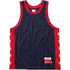 SUPREME Basketball Tank Navy M Box Logo 2013 camp cap kate moss S/S 13