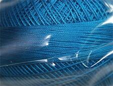 Lizbeth Cordonnet 100% Egyptian Cotton Thread -Size 10 Color 657 Dark Ocean Turq