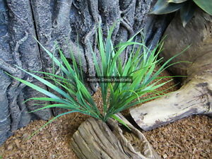 Artificial Grass Tussock 30cm Plant Reptile Enclosure Snake Lizard Frog ZCL-007