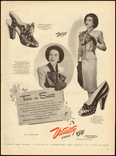 1945 Vintage ad for Vitality Shoes/40's clothing/shoe fashions (032613)