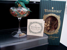 """Waterford Christmas Ornament """"2000 Champagn Glass"""""""