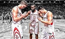 "22 James Harden - Houston Rockets NBA Basketball Star 23""x14"" Poster"