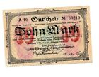 Auerbach Notgeld 10 Mark 23.Oktober 1923. Los 1481. schoeniger-notgeld