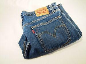 Womens 501 Levi Skinny Jeans W33 L29 Model 12501-0291 stretch material