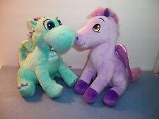 DISNEY SOFIA THE FIRST - Crackle Dragon & Minimus Pegasus Horse - LOT OF 2