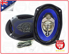"6 x 9"" Car Audio Speakers Woofer Tweeter 3 Way Pair 250 Watts 4 Ohm PL-6948"