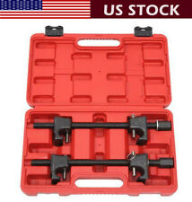 2pcs Heavy Duty Coil Spring Compressor Strut Remover Installer Tool Set Black US