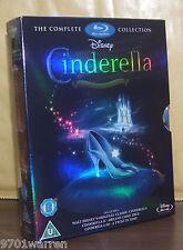 Walt Disney ~ Cinderella 1-3 ~Blu-ray ~ 3-Disc Set, Box Set ~ BN&FS