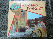 LP RECORD VINYL COVER MOTORCYCLE HOUSEBAND SYMPATIC  1977 MOTO GUZZI ?