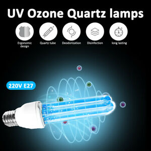 Fashion 20W Disinfection Germicidal Bulb UVC Ultraviolet sterilization lamp E27