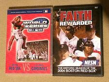 Boston Red Sox DVD's - 2004 World Series