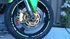 RIM STRIPES WHEEL DECALS TAPE STICKER KAWASAKI ZX-6R ZX7R ZX9R ZX10R ZX12R ZX14