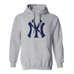 New York Yankees NY Hoodie Hooded Sweat Shirt NYC Sweatshirt Sweater Adult