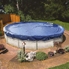 Round Pool Cover Above Ground Winter Extra Thick Durable Solid Constructed 21 Ft