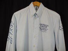 Gaastra Antigua Crew Caribbean Challenge Long Sleeve Button Front Shirt M