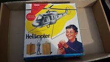 Carrera Helikopter Set mit Karton -vielleicht Sammler/Bastler - 60 er Jahre !!!!