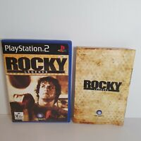 Rocky Legends PS2 PlayStation 2 with manual PAL 🇦🇺 Sent Tracked Aus Post