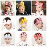 Baby Girl Hairband Bunny Rabbit  Nylon Headband Elastic Hair Band