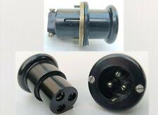More details for bulgin 3 pin plug socket for vintage marshall jtm45 plexi valve tube guitar amp