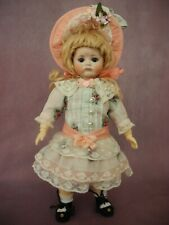 The dress with a bonnet for French, German antique doll