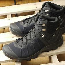 KEEN Outdoor 1021168 Men's Venture Mid Lace Waterproof Black Boots Hiking Shoes