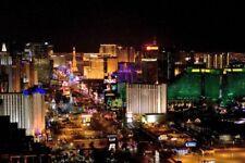 Las Vegas Poster The Strip At Night 11inx17in