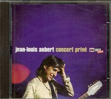 CD ALBUM LIVE 14 TITRES--JEAN LOUIS AUBERT--CONCERT PRIVE M6 1998