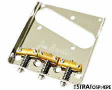 NEW Joe Barden Vintage Tele Compensating BRIDGE Nickel Brass Fender Telecaster