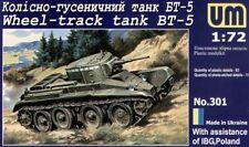 Unimodel 1/72 Russian BT-5 Russian Tank # 301