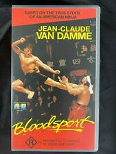Bloodsport VHS