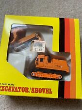 Shinsei excavator die cast very hard to find mint in original box boxes