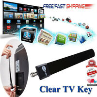 UK Clear TV Key HDTV FREE TV Digital Indoor Antenna Ditch Cable As Seen on TV