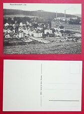 AK PLAUE-BERNSDORF bei Flöha um 1910 Ortsansicht mit Fabrik    ( 27860