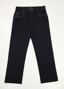 Armani jeans donna usato relaxed comfort blu usato denim boyfriend T3774