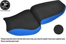 DSG2 GRIP L BLUE VINYL CUSTOM FOR KAWASAKI NINJA ZX6R 600 95-97 SEAT COVERS SET