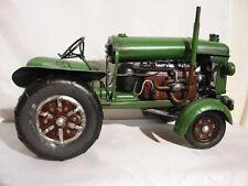 Traktor Tractor Green,40 cm Metall Nostalgie Blechmodell,Neu