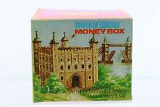 Vintage Tower of London Money Box Piggy Bank New In Box