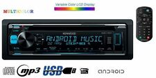 KENWOOD KDC-170Y CD MP3 USB AUX 4#50W VARIO COLOR Autoradio + FERNBEDIENUNG