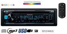 KENWOOD kdc-170y CD mp3 USB AUX 4#50w Vario color autoradio + TELECOMANDO