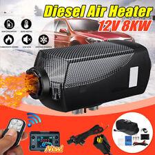 8KW 8000W 12V Air Diesel Fuel Heater For Car Truck Motor-home Boat Bus Van