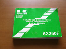 Manual OEM Kawasaki KXF 250 2014
