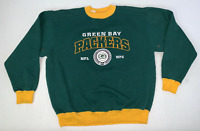 Vintage Green Bay Packers NFL Crewneck Sweatshirt Size Large 90's