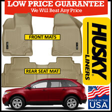 Husky Weatherbeater 2007-2015 Ford Edge/Lincoln MKX Front/Rear Floor Mats TAN