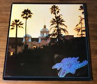 EAGLES ~ HOTEL CALIFORNIA ~ ORIGINAL FIRST PRESS COMPLETE WITH POSTER AND INSERT