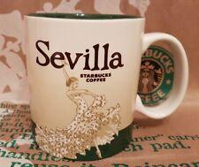 Starbucks Coffee Mug/Tasse/Becher SEVILLA/Spain, Global Icon, NEU und unbenutzt!