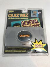 Tiger Quiz Wiz Electronic Question and Answer Game  Vintage 1997 New In Pkg