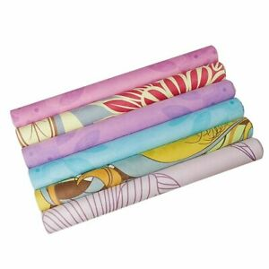 Ultra Light Folding Yoga Mats Printed Natural Rubber Slip Pilates Blankets