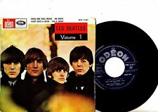 BEATLES EP PS Volume 1 France VERY RARE MOE 21001 French EXPORT NICE UNIQE COVER