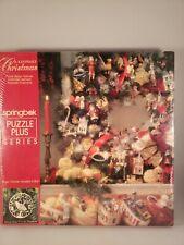 Hallmark Puzzle A Keepsake Christmas Springbok Vintage New Sealed